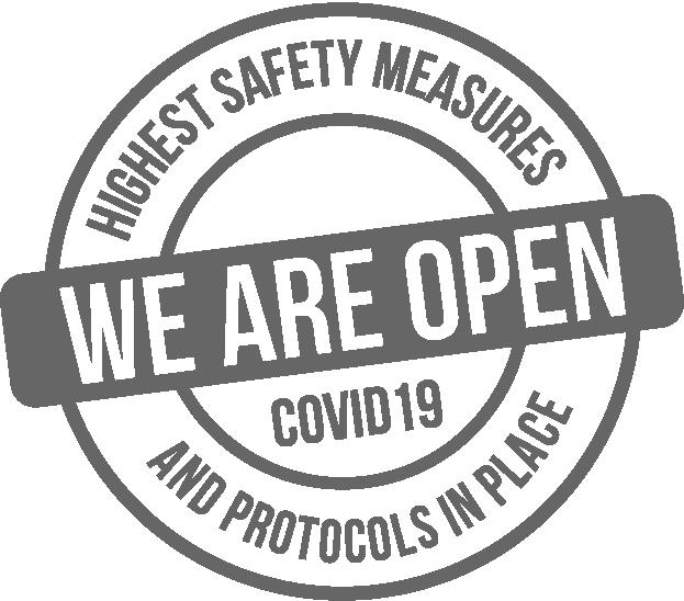 COVID-19 - We Are Open